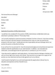 cover letter - What Should You Say In A Cover Letter