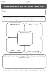 Printable graphic organizer
