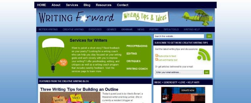 Creative writing websites for adults