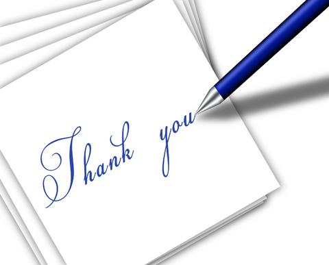 Personal Thank You Letter Tips